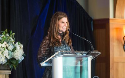 MARIA RECEIVES SILVER LINING AWARD AT PART THE CLOUD LUNCHEON IN FEBRUARY 2017